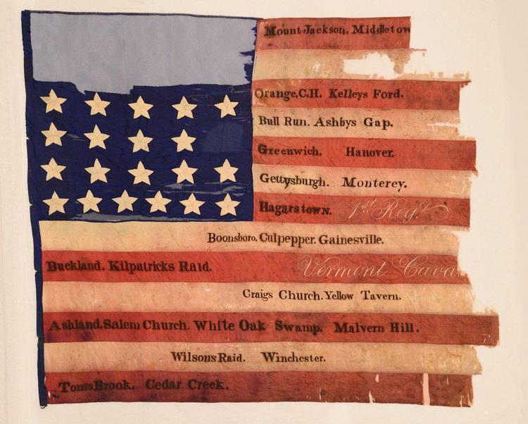 1st Vermont Cavalry, National Flag 2 (1870.001.022).jpg